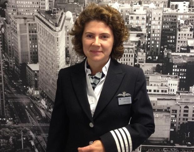 Claire Fremery, commandant de bord chez Openskies - DR : Openskies