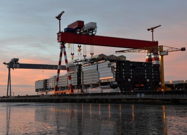 Le navire jumeau de l'Harmony of the Seas sera livré en avril 2018, avant de naviguer pendant tout l'été de sa saison inaugurale, en Méditerranée - DR : RCI
