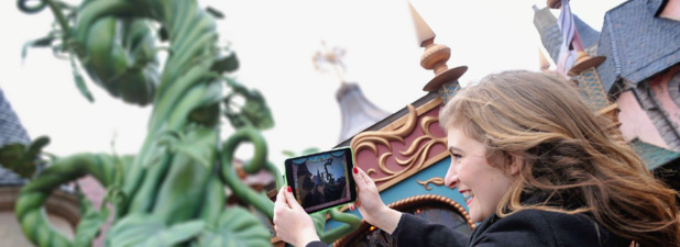 Le rallye interactif de Disney Business Solution est adapté pour des groupes jusqu'à 300 personnes réparties en équipes de 6 - Photo : Disney Business Solutions