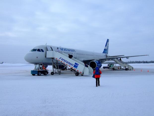 Dès la fin de l'année 2017, la compagnie finlandaise reliera Paris-CDG avec Kittila, au nord de la Laponie © Wikimedia commons