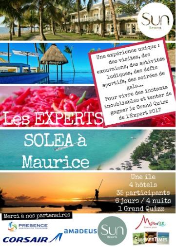 Solea organise un éductour à L'Ile Maurice - DR
