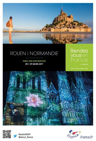 Pour sa 12e édition, le salon BtoB Rendez-Vous en France pose ses valises à Rouen - DR : Atout France
