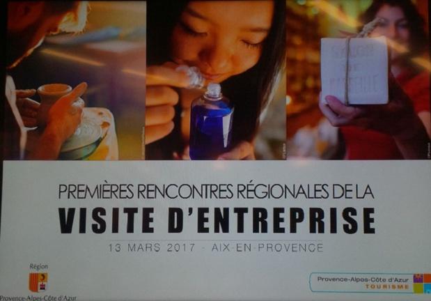 Chaque année en PACA, 153 entreprises accueillent la visite de 2,5 millions de touristes - DR