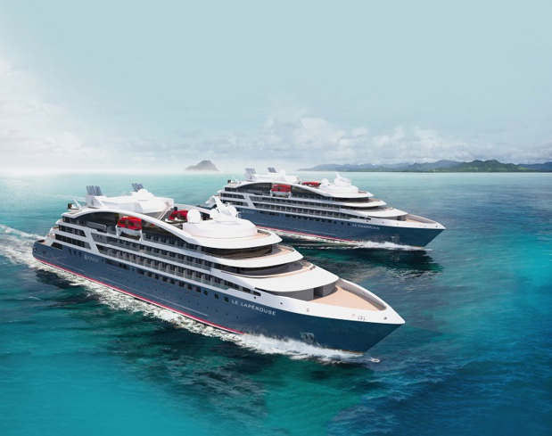 4 PONANT EXPLORERS sont attendus à l'été 2018 et à l'été 2019 dans la flotte de Ponant - Photo Sterling Design International