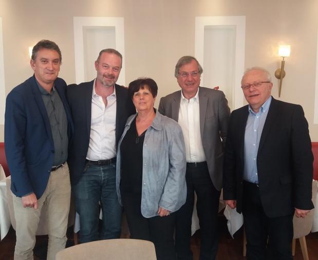 Le nouveau Bureau des Entreprises du Voyage Rhône Alpes Centre Est élu en AG mercredi 15 mars 2017 - Photo : Les Entreprises du Voyage