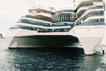 Le ''Radisson Diamond'' deviendra casino flottant à Hong Kong
