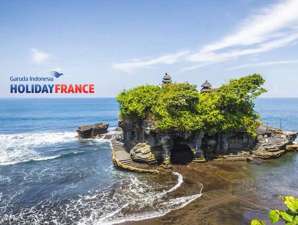 Garuda Indonesia Holiday France est sur le marché français depuis 2016 - DR : Garuda Indonesia Holiday France