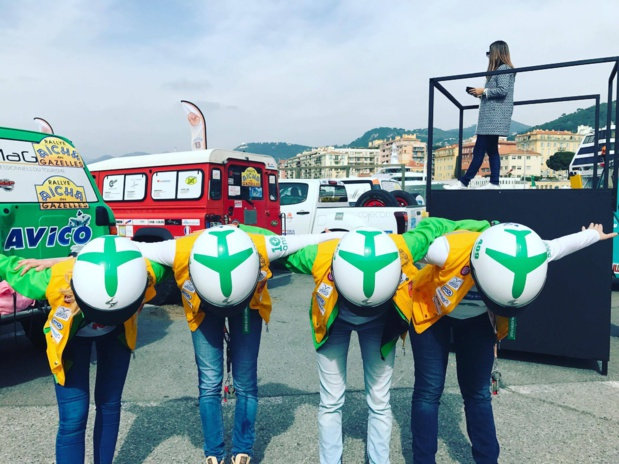 Les équipages Transavia au départ sur le port de Nice - DR