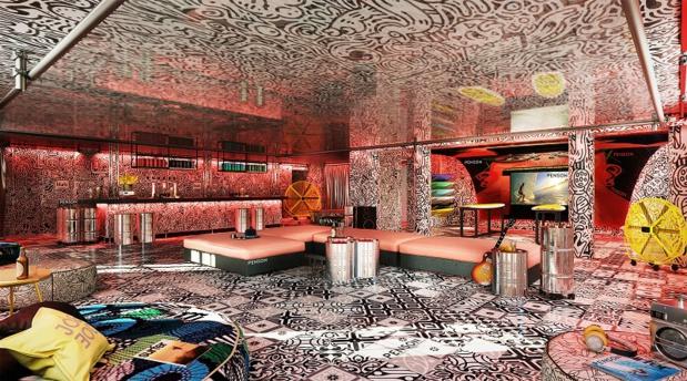 Le Playground, ouvert à tous, comprend un bar à bières locales, un restaurant de cuisine artisanale avec des menus complets à partir de 10€ - DR : Accor
