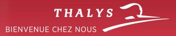Thalys : 6,7 millions de passagers (-1,9 %) en 2016