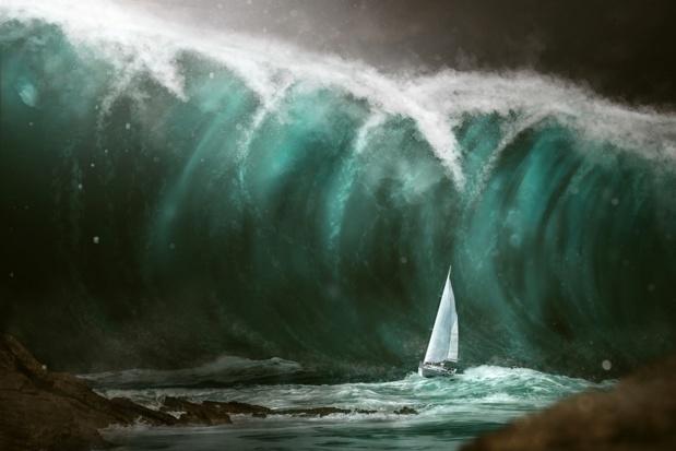 Et si un tsunami s'abattait un jour sur les côtes guadeloupéennes - Photo : lassedesignen-Fotolia.com