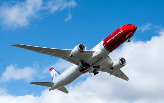Norwegian va augmenter son offre de sièges de 30 % entre Nice et Oslo grâce au B787 Dreamliner en 2017 - Photo : Norwegian