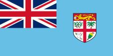 Le drapeau des Iles Fidji - DR