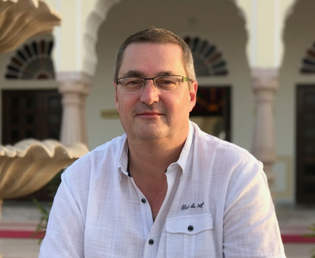 Thierry Houalard, directeur général de National Tours lors du voyage de presse au Rajasthan en Inde - Photo JdL