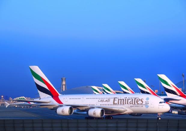 Emirates déploie son A380 à Nice à partir du 1er juillet - DR