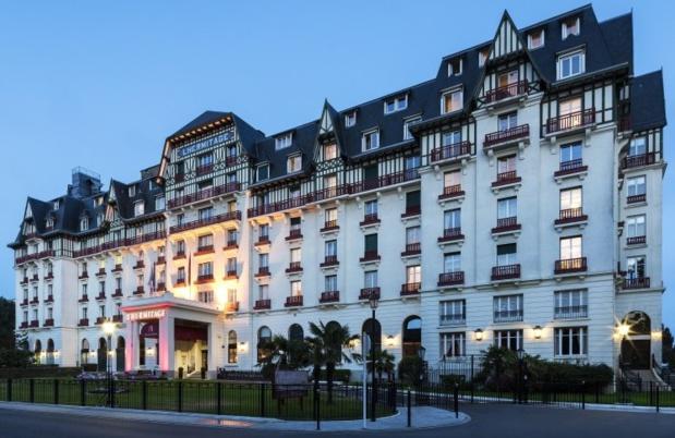 Le légendaire hôtel Barrière L'Hermitage, à La Baule, rouvre ses portes le 31 mars 2017 - DR : Hôtel Barrière L'Hermitage La Baule