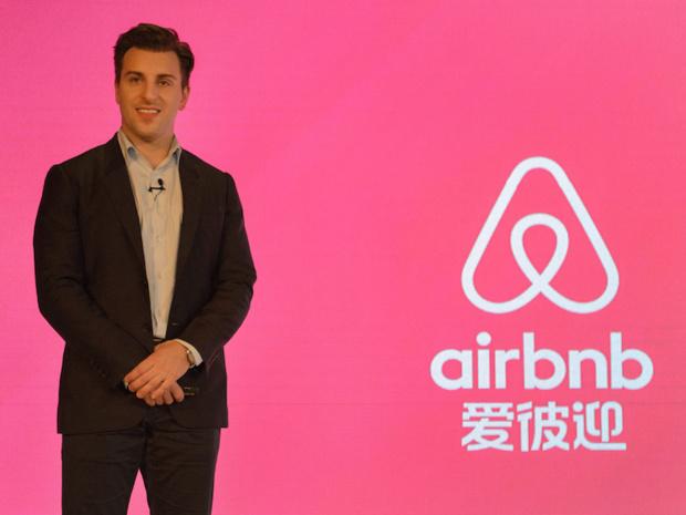 Brian Chesky, PDG d'Airbnb a annoncé ses ambitions pour la Chine (c) Airbnb Inc