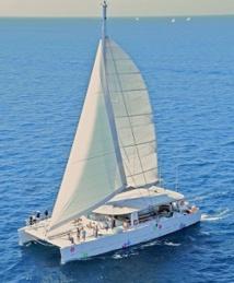 Levantin crée petits et grands événements sur mer. DR: Levantin Catamaran