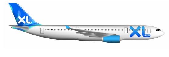 C'est en Airbus A320-300 que XL Airways volera vers les Antilles françaises pendant l'hiver 2017/2018 - DR : XL Airways