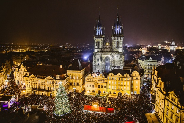 Le marché de Noël de Prague qui sera proposé par Step Travel en 2018 - Photo : Step Travel