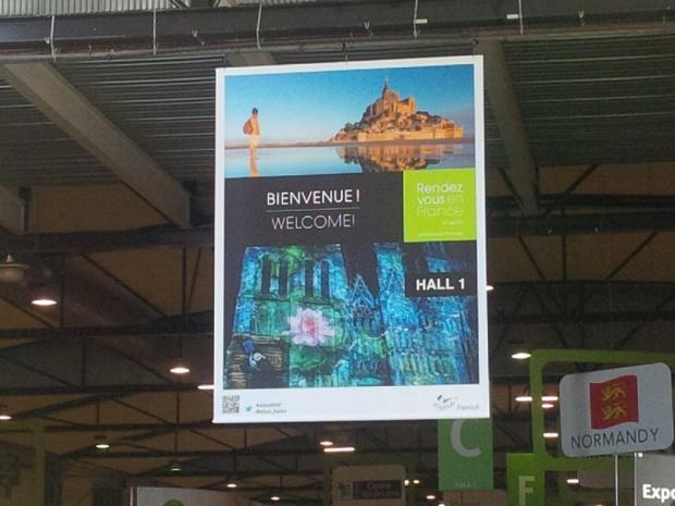 Rendez-vous en France  réunit 740 exposants français et 892 tour-opérateurs internationaux les 28 et 29 mars 2017 à Rouen. DR: Aurélie Resch