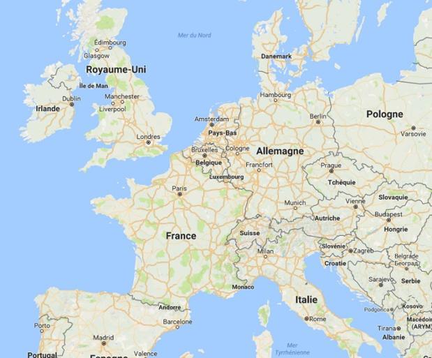Union européenne : le nombre d'arrivées en hausse de 4%