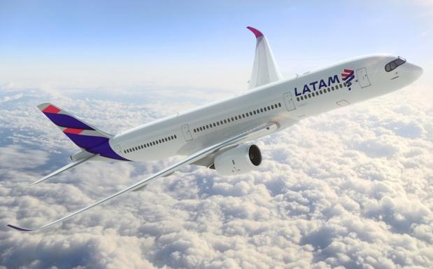 L'A350 XWB de Latam Airlines - DR