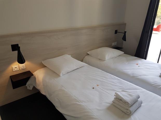 Parmi les 124 chambres, 30 d'entre elles disposent d'une mezzanine. Pour les familles, une trentaine de chambres sont aussi communicantes - Photo TourMaG CE