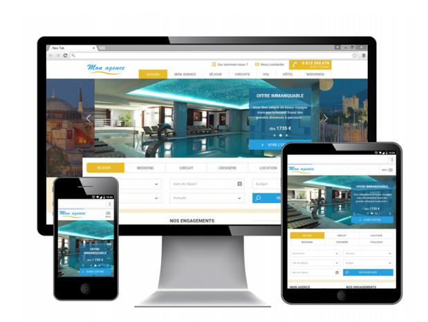 SpeedMedia propose de nouveaux designs et toujours 100% Responsive Web Design, de de nouvelles présentations et de nouveaux modules (c) Capture SpeedMedia
