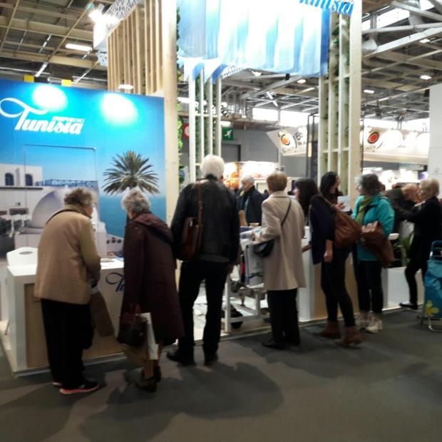 Lors du récent SMT ouvert au grand public record  d'affluence  pour la Tunisie. Photo MS.