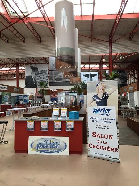 Périer Voyages a organisé son premier Salon de la Croisière au Havre le 30 mars 2017 - Photo : Périer Voyages