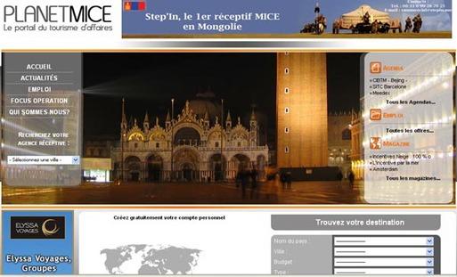 PlanetMICE.com, nouveau portail sur le tourisme d'affaires