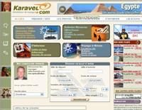 Le site Karavel.com