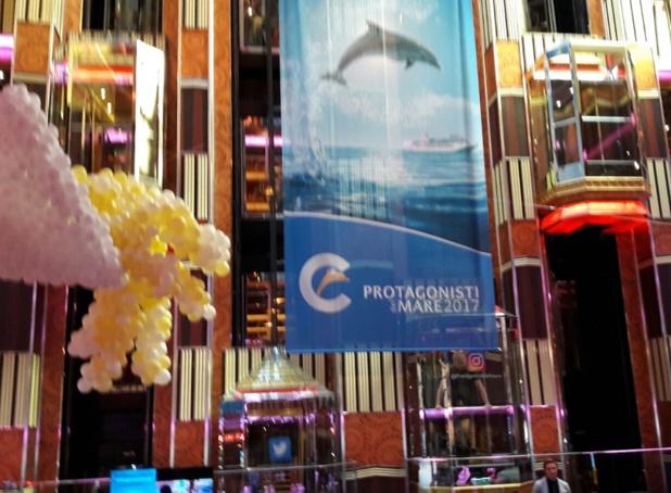 La 24e édition des Lauréats de la Mer accueille à bord du Costa Pacifica 1 600 agents de voyages - une participation record - venus de France, d'Europe et d'Amérique du Sud - DR : M.S.