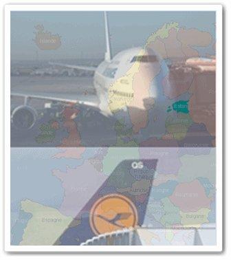 2009 : Lufthansa et Air france-KLM se partagent l'Europe