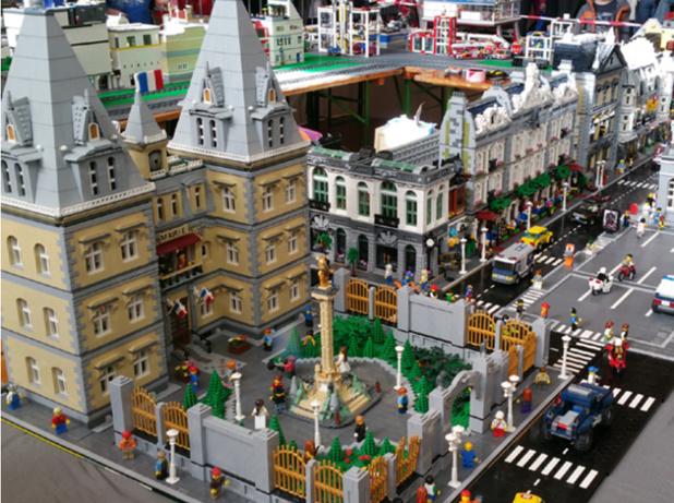 Bourgogne-Franche-Comté: une exposition 100 % LEGO