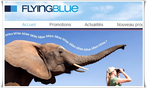 Flying Blue change : plus le billet sera cher plus on aura de miles...