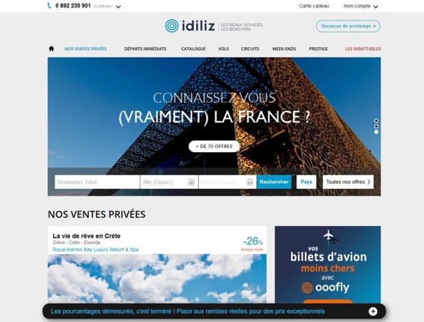 Idiliz cherche des conseillers voyages et conseillers circuits sur mesure, créatifs et à l'écoute du client DR: Idiliz