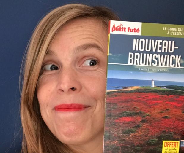 Emmanuelle Winter, Responsable du Développement et Marketing Tourisme et Parcs Nouveau-Brunswick et le nouveau Petit Futé - DR