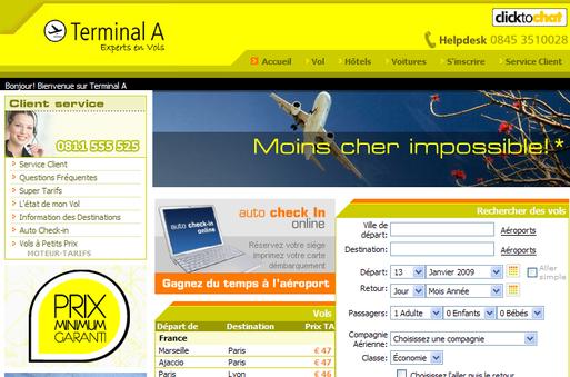 TerminalA a facturé 180 M€ en 2008