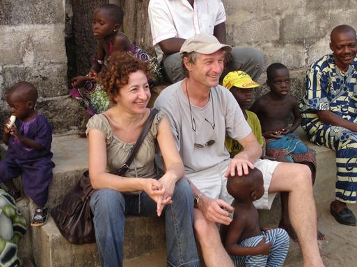 Najoua Mahmoud directrice du développement d'Afriquiah et Olivier Théry directeur associé de Chemins de Sable - Ethnica