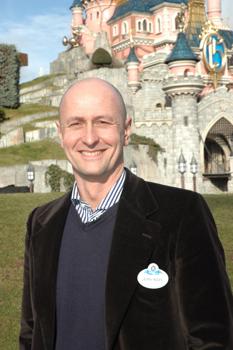 Jean-Noël Thiollier, directeur Emploi et Rémunération de Disneyland Resort Paris