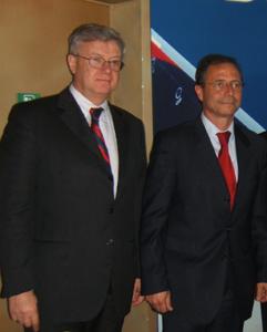 H. de Place : PDT du directoire de la société aéroportuaire Nice Côte d'Azur