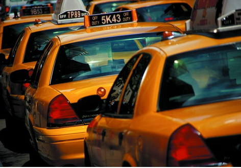 Les célèbres taxis jaunes - Crédit : NYC & Company