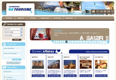 International Ok Tourisme : nouveau site BtoB