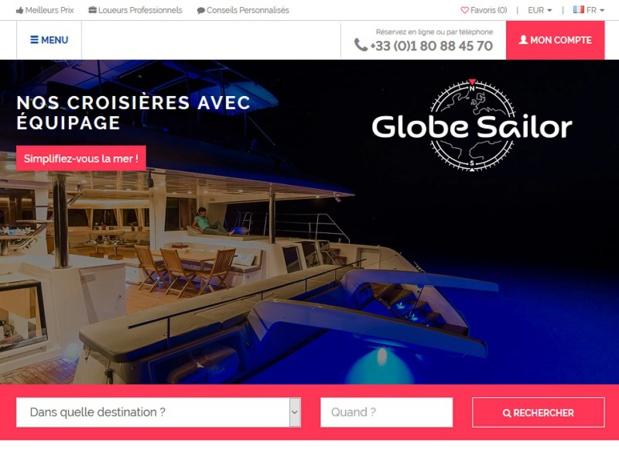 Le site GlobeSailor propose plusieurs croisières avec équipage - DR capture écran