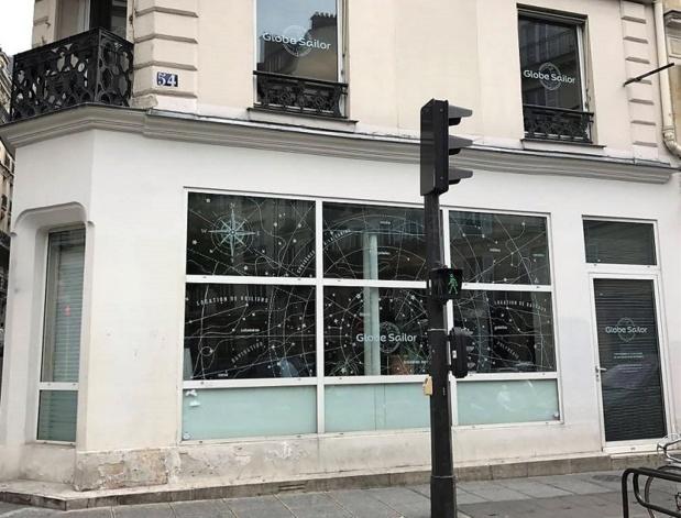 L'agence Globesailor à Paris dans le 9ème arrondissement - DR