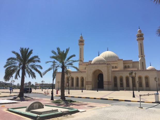 La Grande Mosquée du Bahreïn, inaugurée en 1994 et pouvant accueillir 7 000 personnes pour la prière © PG TM