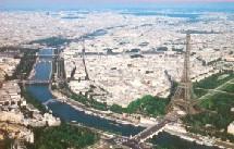 Paris a du ma là attirer les touristes en ce début d'année