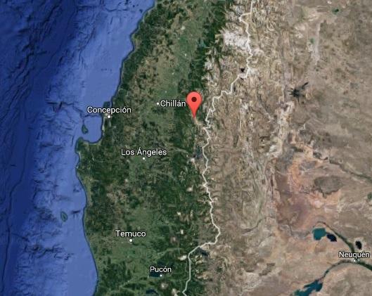 Le complexe volcanique Nevados de Chillan au Chili - DR